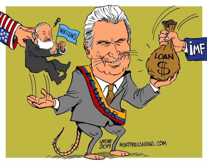 Lenin Moreno IMF