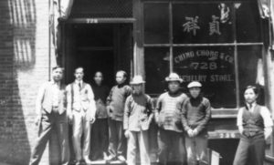 Early chinese immigrants