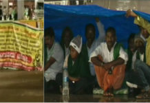 North Karnataka farmers protest