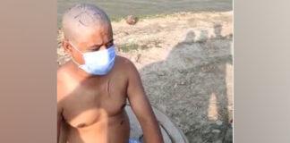 Nepali Man Tonsured