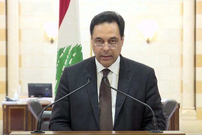 Lebanon PM announced the resignation of the government