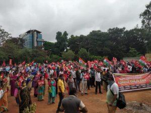 'Save India' Campaign at Freedom Park , Bengaluru