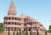 Proposed Ram Mandir at Ayodhya
