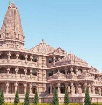 Proposed Ram Mandir at Ayodhya
