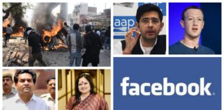 facebook delhi violence