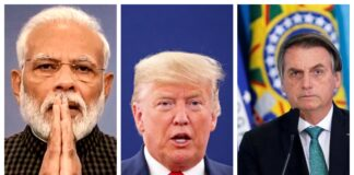modi, trump, and bolsonaro