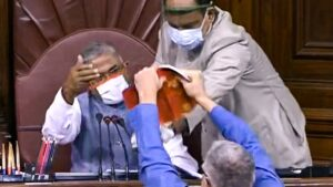 parliament opposition storms well