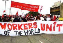labour codes protest