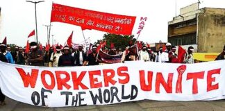 labour codes protest