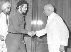 Nehru and Che guevara