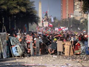 chileans protest