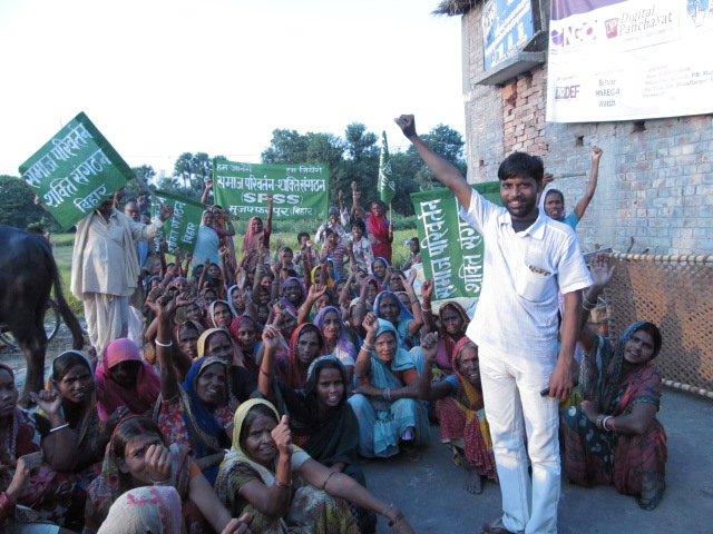 MGNREGA workers sanjay sahni