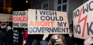 poland abortions protest| Courtesy: Deutsche Welle