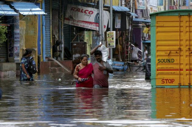 Nivar cyclone Chennai