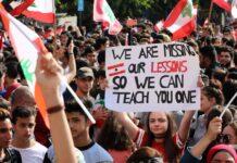 Lebanon Student Protest