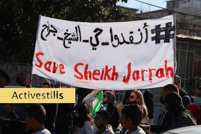 Protest againt Israeli Military Occupation
