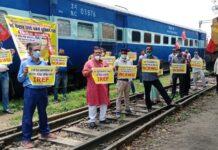 railway protests