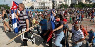 Protests Cuba
